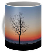 Lake Michigan Silhouette Coffee Mug by Fran Riley
