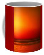 Lake Michigan Sunset Abstract Coffee Mug