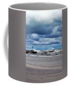 Lake Michigan With Big Wind  Coffee Mug