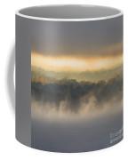 Lake Mist Triptych II Coffee Mug