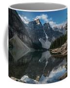 Lake Moraine Reflection Coffee Mug