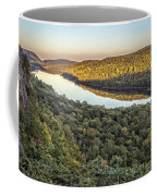 Lake Of The Clouds Sunset Coffee Mug