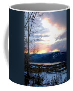Lake Okanagan Sunset At Vernon Coffee Mug