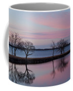 Lake Overholser Sunset Coffee Mug