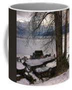 Lake Pend D'oreille At Humbird Ruins 1 Coffee Mug