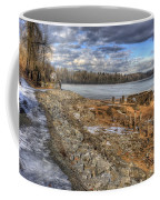 Lake Pend D'oreille At Humbird Ruins 2 Coffee Mug