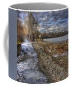 Lake Pend D'oreille At Humbird Ruins Coffee Mug