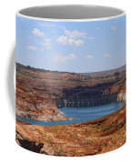 Lake Powell And Glen Canyon Dam Coffee Mug