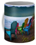 Lake Quinault Chairs Coffee Mug
