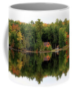 Lake Reflections Panorama 4370 4371 Coffee Mug