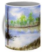 Lake Scene Coffee Mug