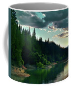 Lake Shasta Painterly Coffee Mug