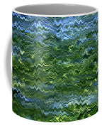 Lake Tahoe Abstract Coffee Mug