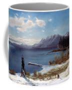 Lake Tahoe Coffee Mug by Albert Bierstadt