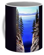 Lake Tahoe Framed Coffee Mug