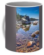 Lake Tahoe Rocks Coffee Mug