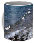 Lake Tahoe Waves Coffee Mug