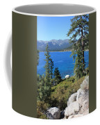 Lake Tahoe With Mountains Coffee Mug