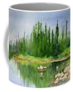 Lake View 1-2 Coffee Mug