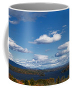 Lake Winnipesaukee New Hampshire In Autumn Coffee Mug