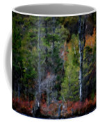 Lakeside In The Autumn Coffee Mug