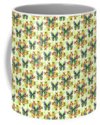 Lalabutterfly Lemons Reduced Scale Coffee Mug