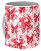 Lalabutterfly Red And White Coffee Mug
