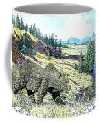 Lamar Valley Grizz Coffee Mug