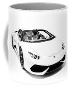 Lamborghini Huracan Lp610-4 Spyder Coffee Mug