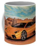 Lamborghini Reventon 2007 Painting Coffee Mug