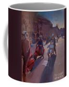 Lambrettas At Winchester Coffee Mug