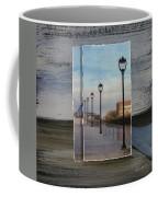 Lamp Post Row Layered Coffee Mug