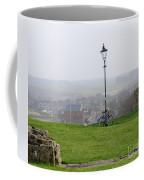 Lamppost And Bike. Coffee Mug