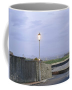 Lamppost. Night Is Coming. Coffee Mug