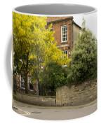 Lamppost On A Street Bend. Coffee Mug