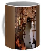 Lamps Inside The Church Of The Holy Sepulchre, Jerusalem Coffee Mug