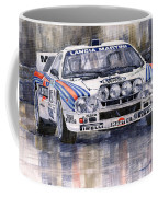 Lancia 037 Martini Rally 1983 Coffee Mug