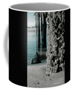 Land Meets Water Nature Photograph Coffee Mug