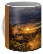 Land Of Fire And Ice Coffee Mug