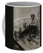 Landier.  Tinsmith. Coffee Mug