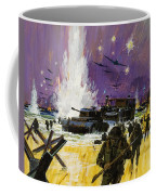 Landing Coffee Mug by Graham Cotton