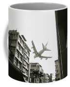 Landing In Hong Kong Coffee Mug