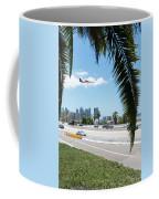 Landing In San Diego Coffee Mug