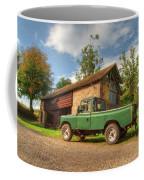 Landrover And The Barn Coffee Mug