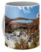 Landscape Arch - Arches National Park Moab Utah Coffee Mug