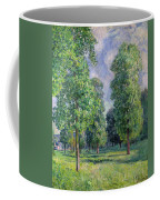 Landscape At Sevres Coffee Mug by Alfred Sisley