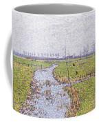 Landscape At Sluis Coffee Mug