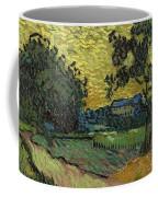 Landscape At Twilight Auvers Sur Oise June 1890 Vincent Van Gogh 1853  189 Coffee Mug