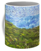 Landscape Dots Coffee Mug