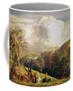 Landscape Figures And Cattle Coffee Mug
